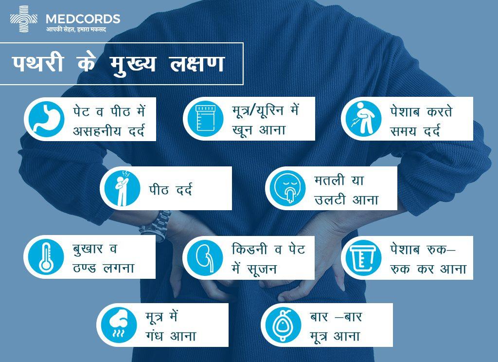 symptoms of kidney stone
