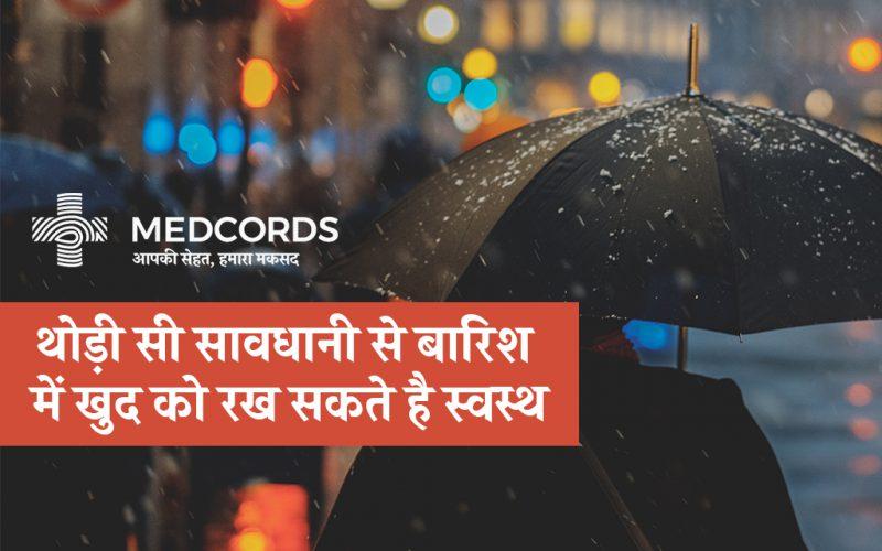 person holding an umbrella during rain