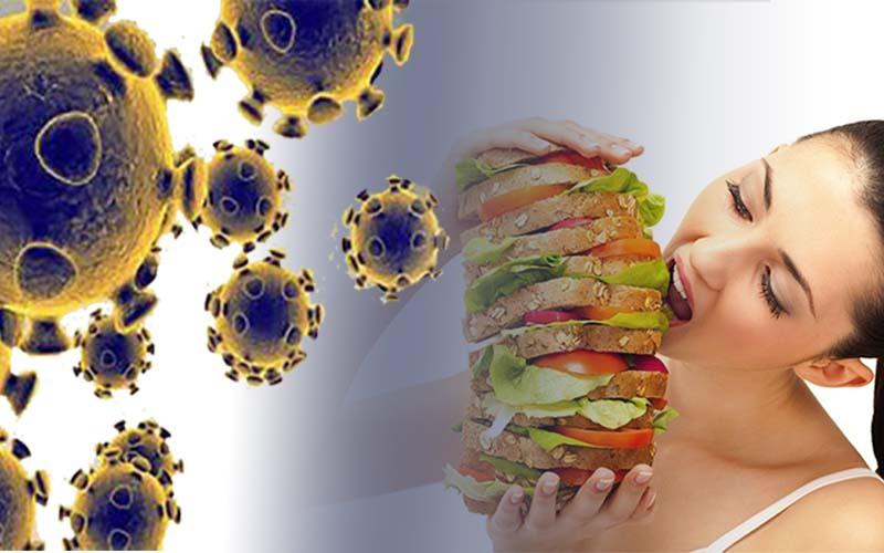 खराब डाइट बढ़ा सकती है कोरोना जैसे वायरस से संक्रमित होने की आशंका