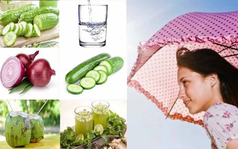 How to take care of your body in summer