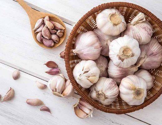 where not to eat garlic
