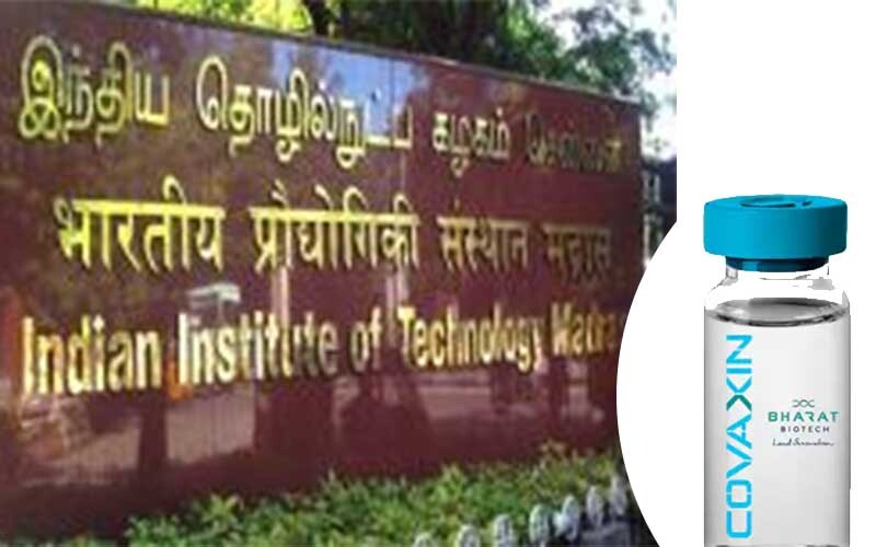 Covaxine's human trial begins, IIT Madras makes corona update band