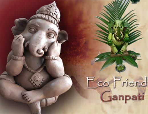 Eco friendly ganpati bappa