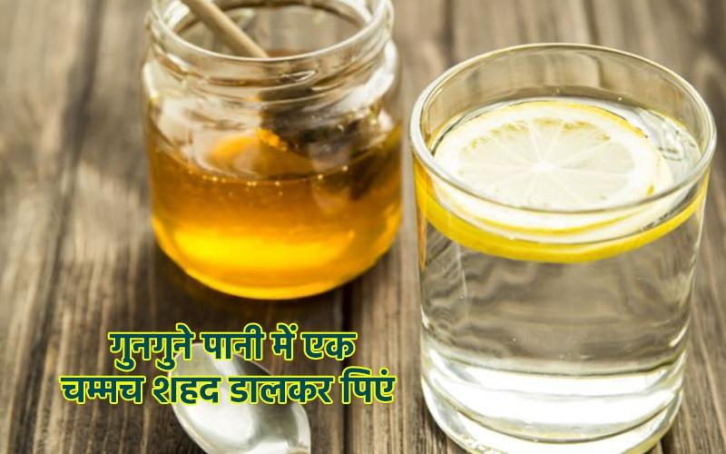 Honey and hot water will reduce coronavirus risk