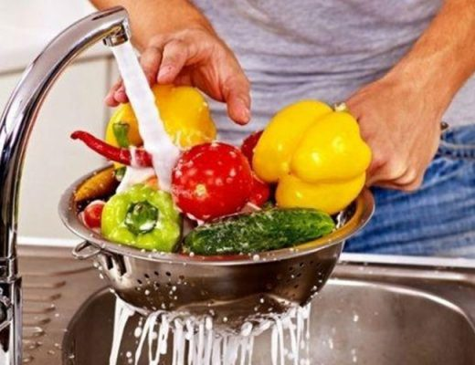 how to wash vegetables