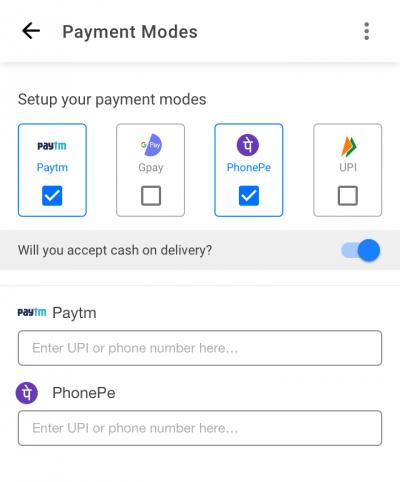 Medicine Availability Digital Order Mark Availability Setup payment mode 1 1 e1627027162506