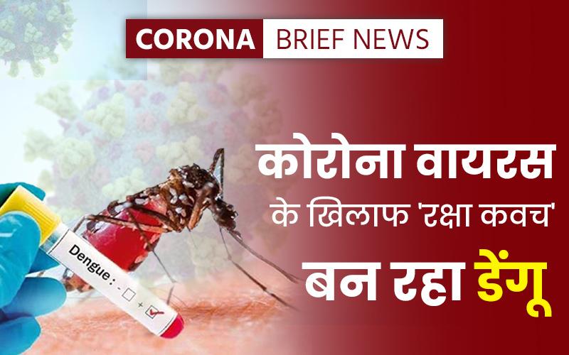 Dengue Coronavirus latest डेंगू update