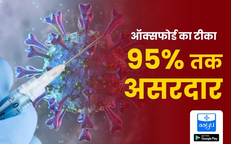corona vaccine effective by 95%