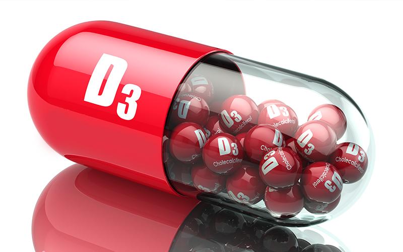 विटामिन डी 3 की कमी के कारण और लक्षण