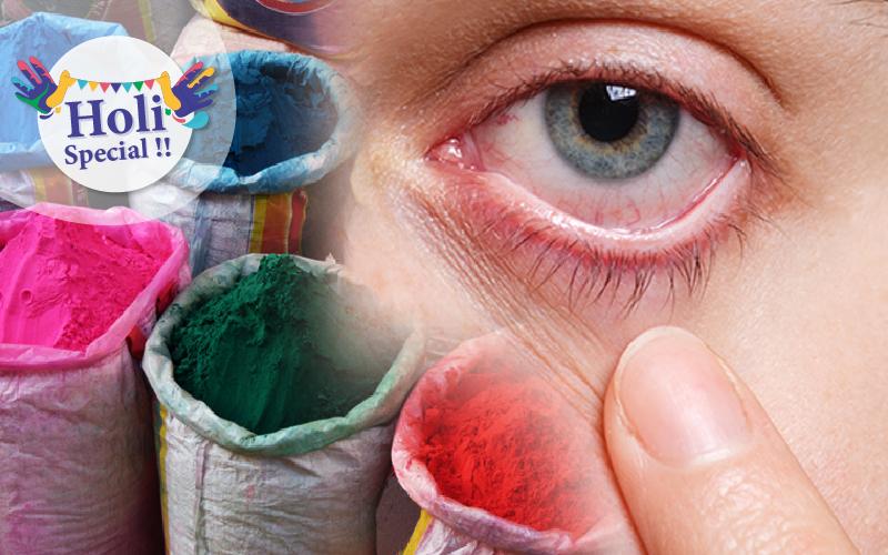 केमिकल युक्त रंग से सेहत को होते है ये नुकसान, जानें कैसे करें बचाव