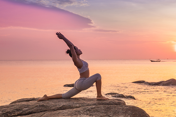 Do exercise or yoga every day