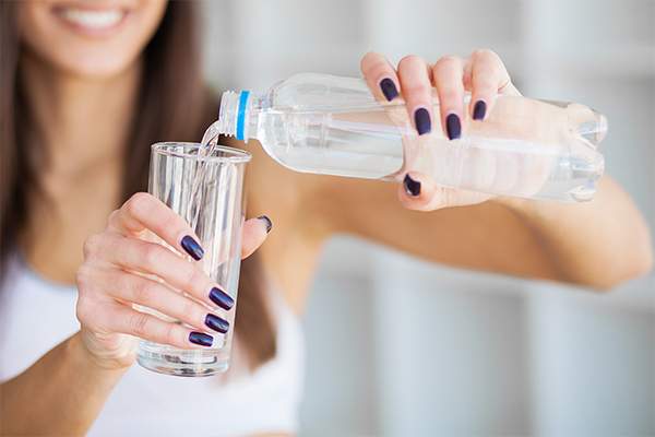 Drink plenty of water to maintain oxygen level