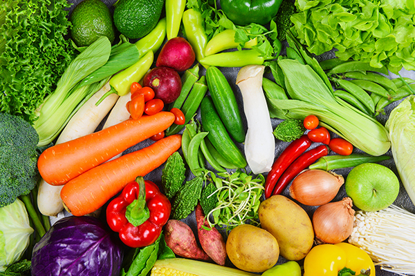 Intake green vegetables to keep strong bones