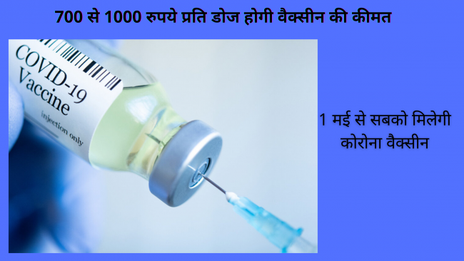 What is the price of covid-19 vaccine