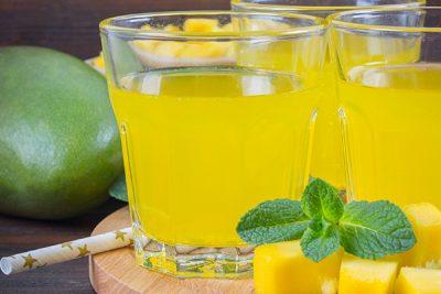 mango ice flavored tea