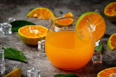orange ice flavored tea