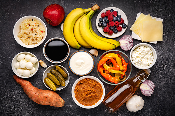 Probiotic Immune Boosting Foods