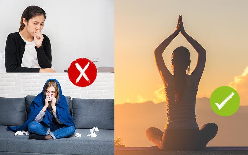 Yoga Cures Cold: सर्दी-जुकाम से छुटकारा पाने के लिए 5 योगासन