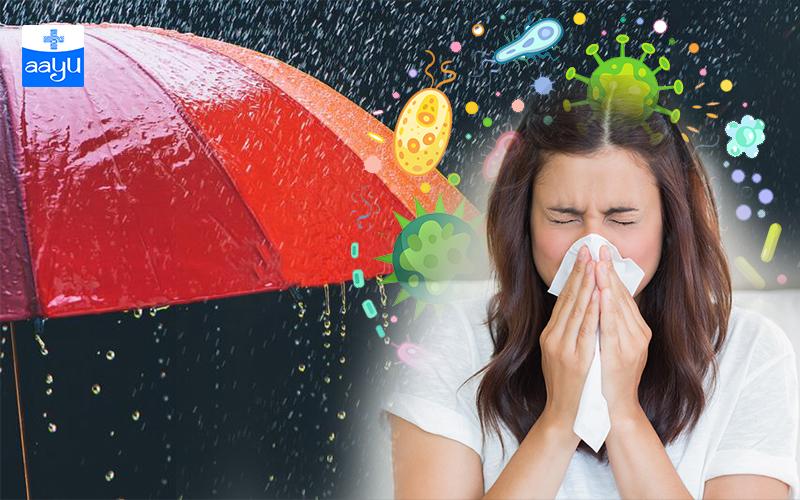 Monsoon Disease: मानसून के मौसम में होने वाली बीमारियां और उनका इलाज, जानें