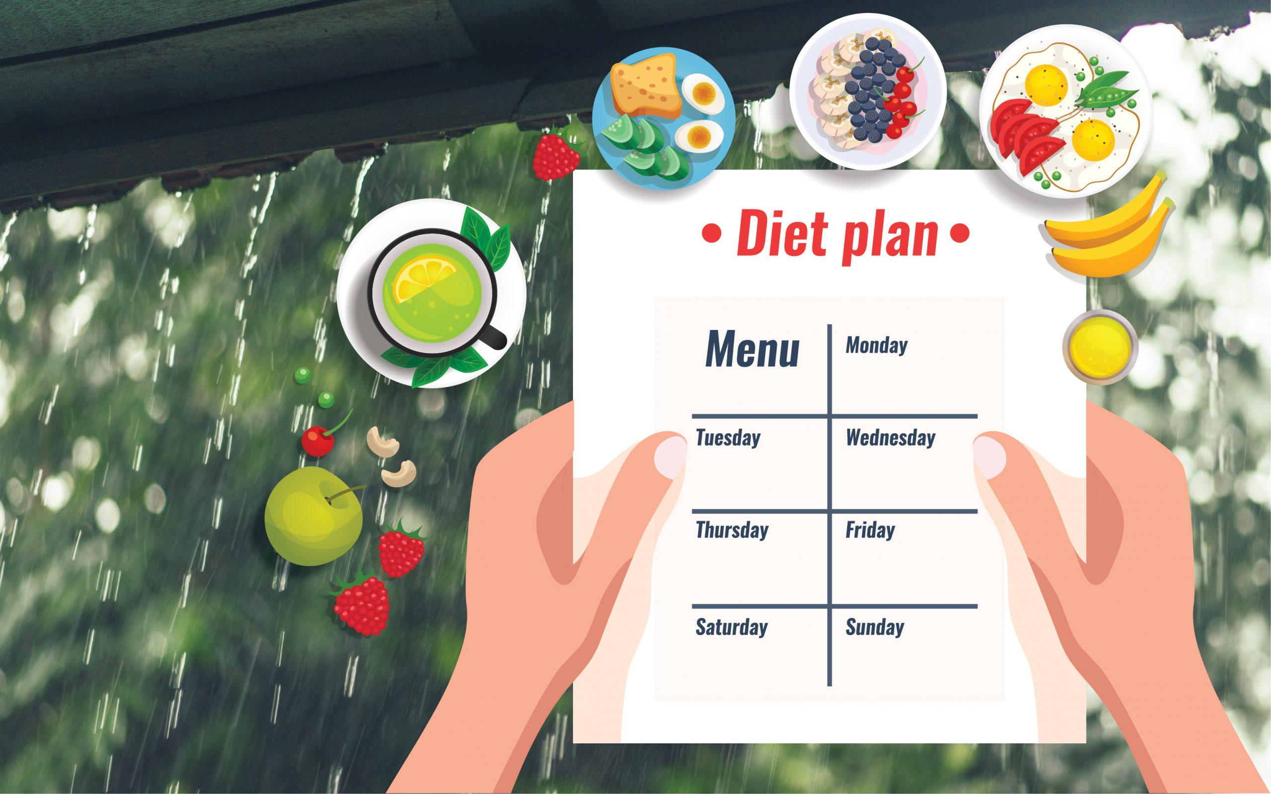 Monsoon Diet: मानसून में रहना चाहते हैं बीमारियों से दूर तो फॉलो करें ये डाइट चार्ट